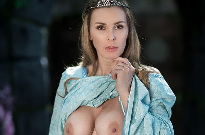 imagen Tanya Tate doncella medieval muy caliente